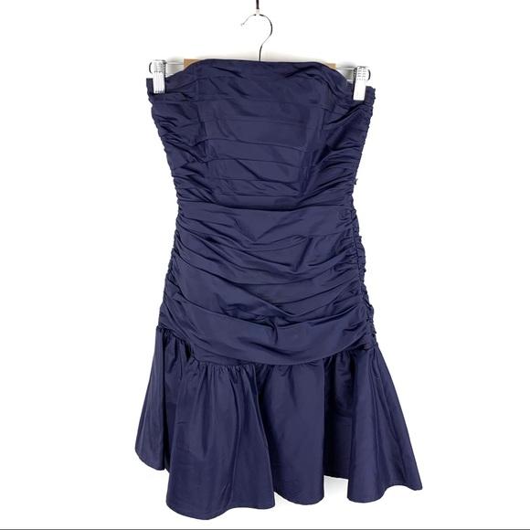 Betsey Johnson Dresses & Skirts - SALE Betsey Johnson Evening Blue Strapless Dress 2